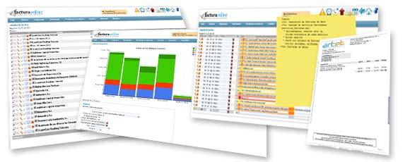 factura online com software de gestión empresarial